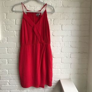 Chelsea28 Red Like new Small Mini Dress